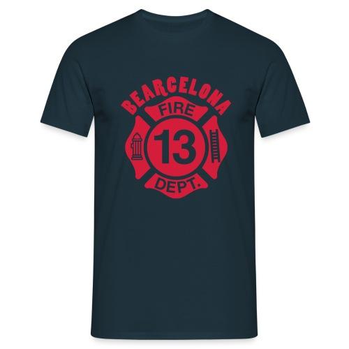 Bearcelona.13 - Men's T-Shirt