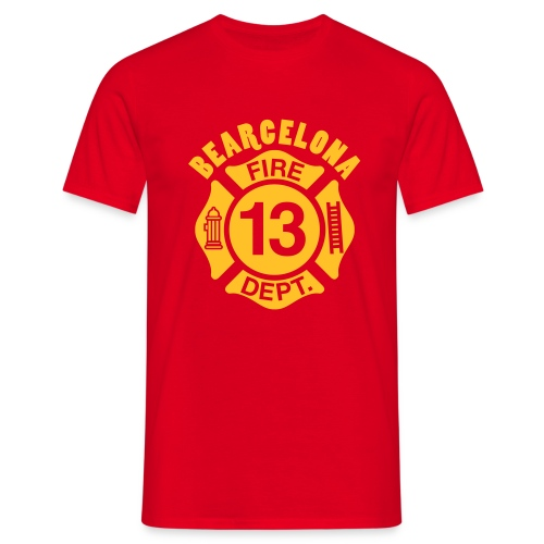 Bearcelona.13 - Men's T-Shirt