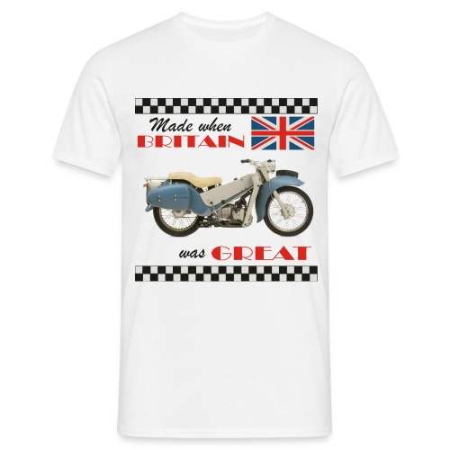Britain was Great LE Velocette - Men's T-Shirt