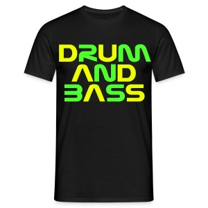 DRUM AND BASS (2) Mens T-Shirt - Men's T-Shirt
