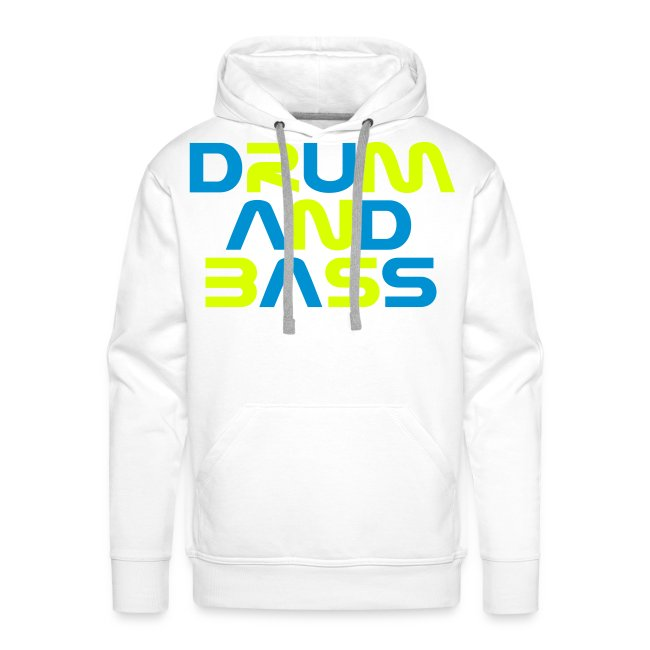 DRUM AND BASS Mens Hoodie