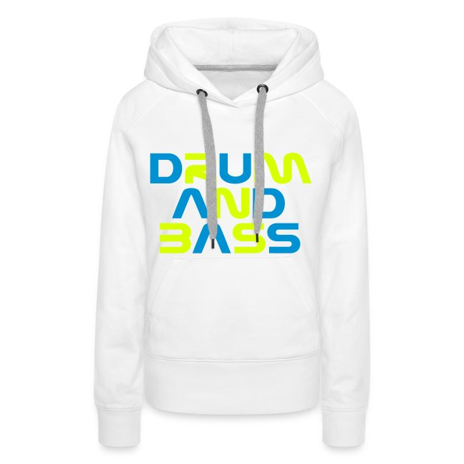 DRUM AND BASS Womens Hoodie