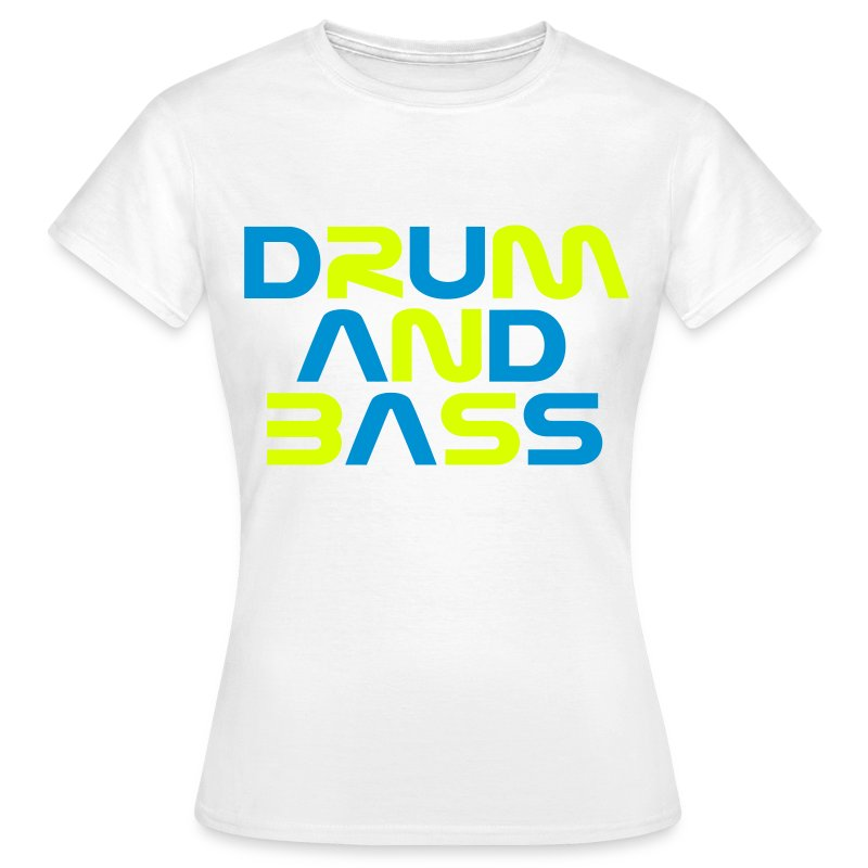 DRUM AND BASS Womens T-Shirt - Women's T-Shirt