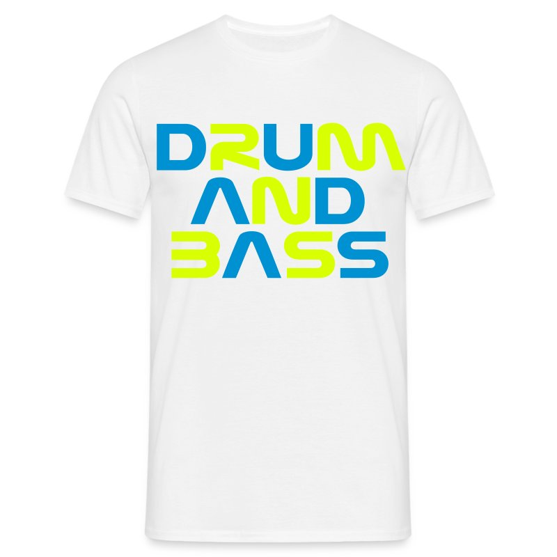 DRUM AND BASS Mens T-Shirt - Men's T-Shirt