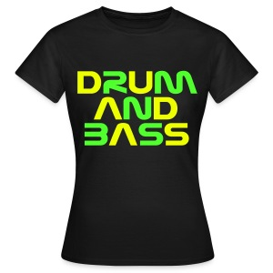 DRUM AND BASS (2) Womens T-Shirt - Women's T-Shirt