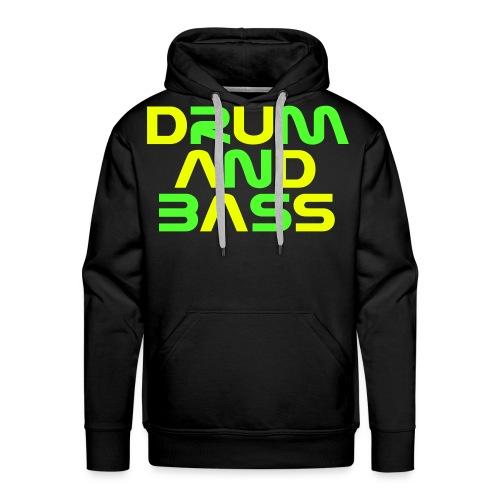 DRUM AND BASS (2) Mens Hoodie - Men's Premium Hoodie