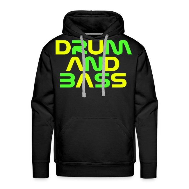 DRUM AND BASS (2) Mens Hoodie