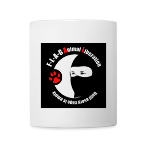 F-L-A-G Animal Liberation - Tasse