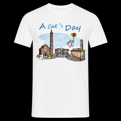 A Cat's Day - Maglietta da uomo
