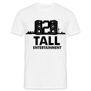 2 TALL Shirt Weiss - Männer T-Shirt