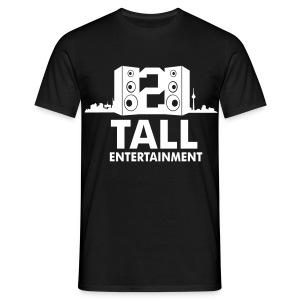 2 TALL Shirt Schwarz - Männer T-Shirt