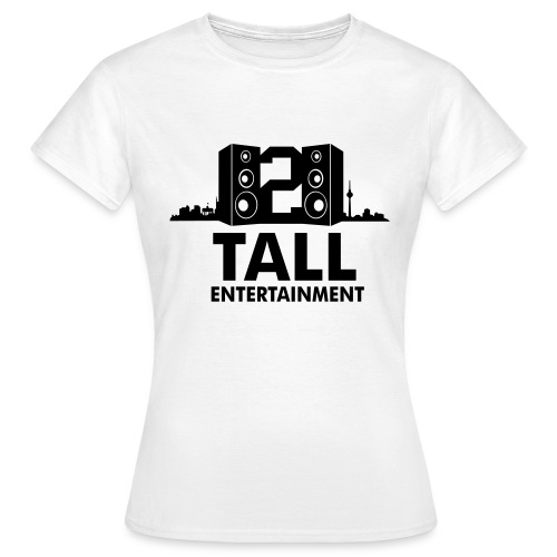 2 TALL Girly Top Weiss - Frauen T-Shirt