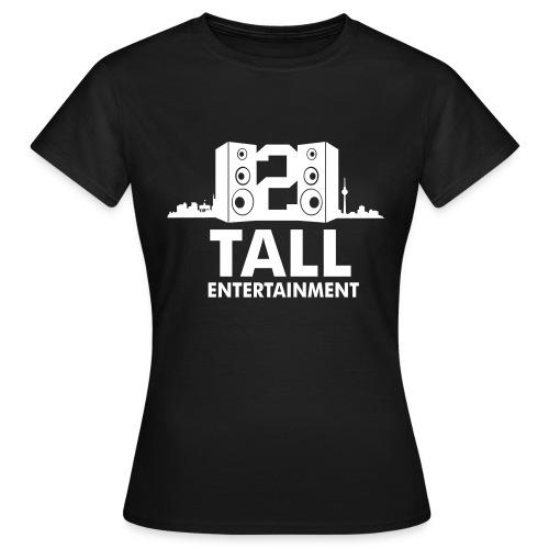 2 TALL Girly Top Schwarz - Frauen T-Shirt