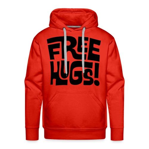 fREE HUGS SWEATER MANNEN - Mannen Premium hoodie