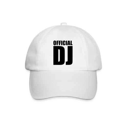 official dj white baseball cap - Baseball Cap