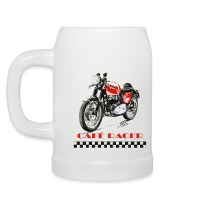 CAFE RACER - Rocket Gold Star Beer Mug - Beer Mug