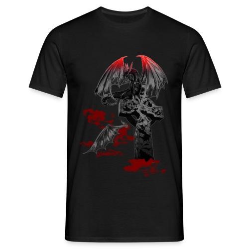 Drago gotico - Maglietta da uomo