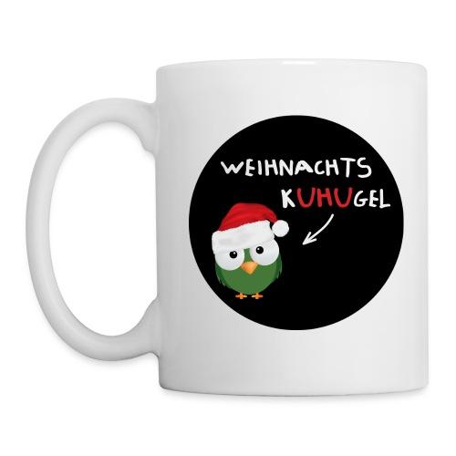Weihnachtskuhugel rund - Tasse