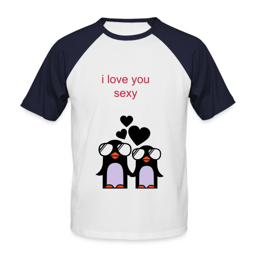 i love you - Men's Baseball T-Shirt