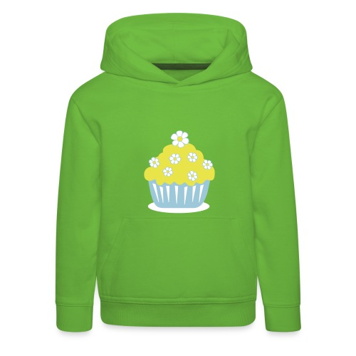 Blümlecupcake - Kinder Premium Hoodie