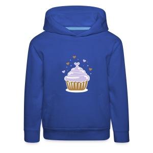 Herzchencupcake - Kinder Premium Hoodie