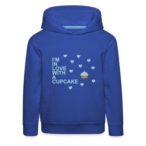 in love with a cupcake - Kinder Premium Hoodie