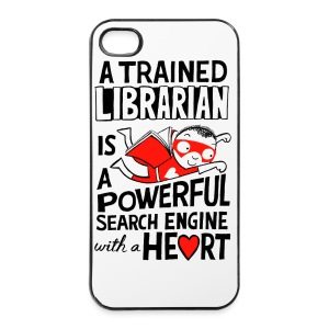 Super Librarian iPhone cover - iPhone 4/4s Hard Case