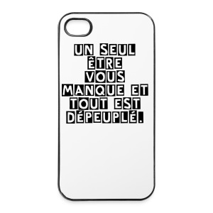 Coque iPhone 4/4S - Coque rigide iPhone 4/4s