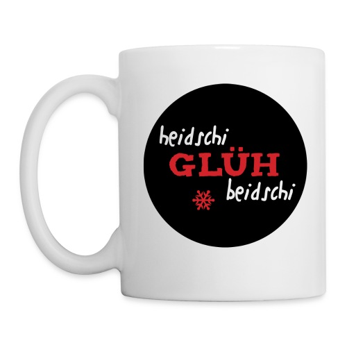 Heidschi-Glüh-Beidschi rund - Tasse
