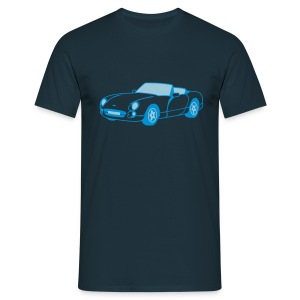 Chimaera sports car Navy T-Shirt - Men's T-Shirt