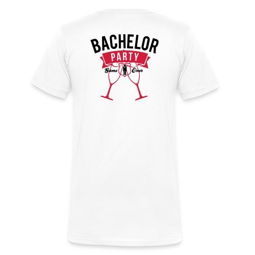 Champagne for the Pain - Männer Bio-T-Shirt mit V-Ausschnitt von Stanley & Stella