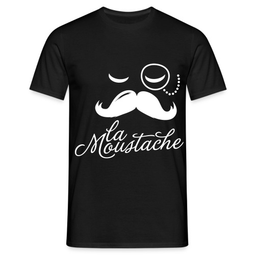 Moustache. - Herre-T-shirt