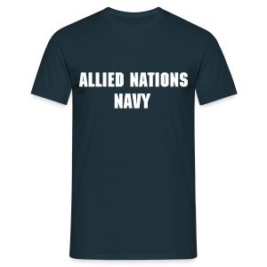 AN Navy shirt - Men's T-Shirt