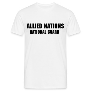 AN National Guard shirt - Men's T-Shirt