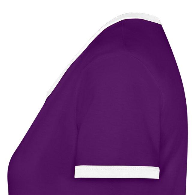 VAN GURK Frauen Kontrast T-Shirt Engerl