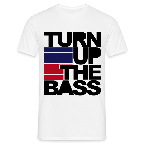 TURN UP THE BASS - Maglietta da uomo