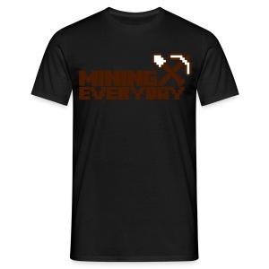 Minecraft - Mannen T-shirt