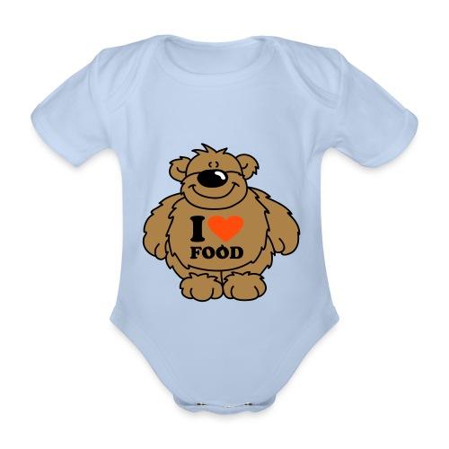baby chef - Organic Short-sleeved Baby Bodysuit