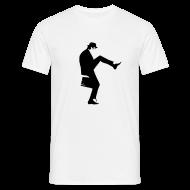 T-Shirts ~ Men's T-Shirt ~ John Cleese Plain Silly Walk Men's Shirt
