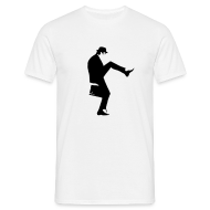 T-Shirts ~ Men's T-Shirt ~ John Cleese Plain Silly Walk Men's Shirt