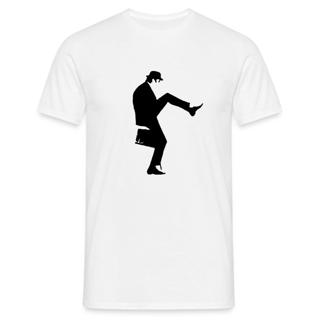 e4f1f620 World of Cheese | John Cleese Plain Silly Walk Mens Shirt - Mens T-Shirt