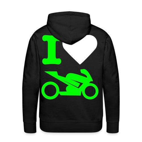 Männer Premium Hoodie - Auto,Bike,Car,Fun,Motorcycle,Motorrad,Racing,Wheels