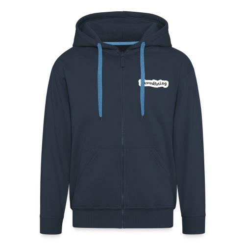 Huvudfoting luvjacka flock print - Men's Premium Hooded Jacket