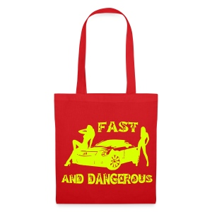 Sac fast and dangerous - Tote Bag