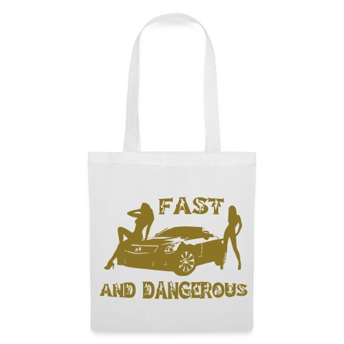 Sac fast and dangerous - Tote Bag
