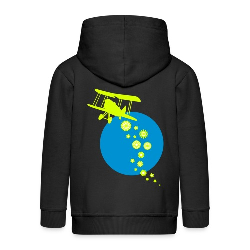 ITS RAINING FLOWERS - Kinder Premium Kapuzenjacke