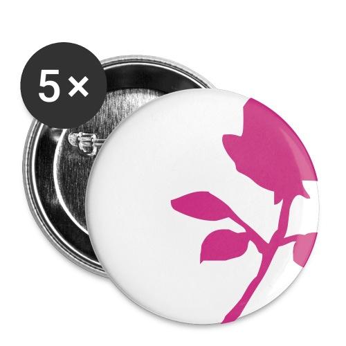 Rose - Rintamerkit keskikokoiset 32 mm (5kpl pakkauksessa)