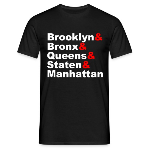 5 Boroughs - Men's T-Shirt