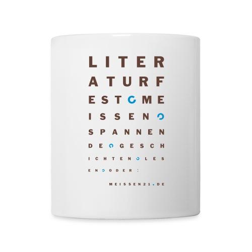 literaturfest-sehtest-porzellantasse - Tasse
