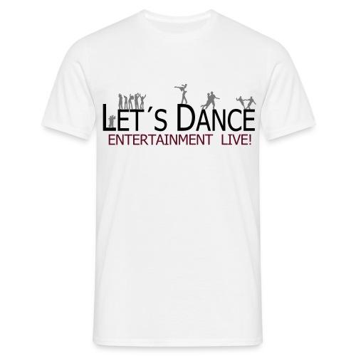 lets_dance_logo_neu - Männer T-Shirt